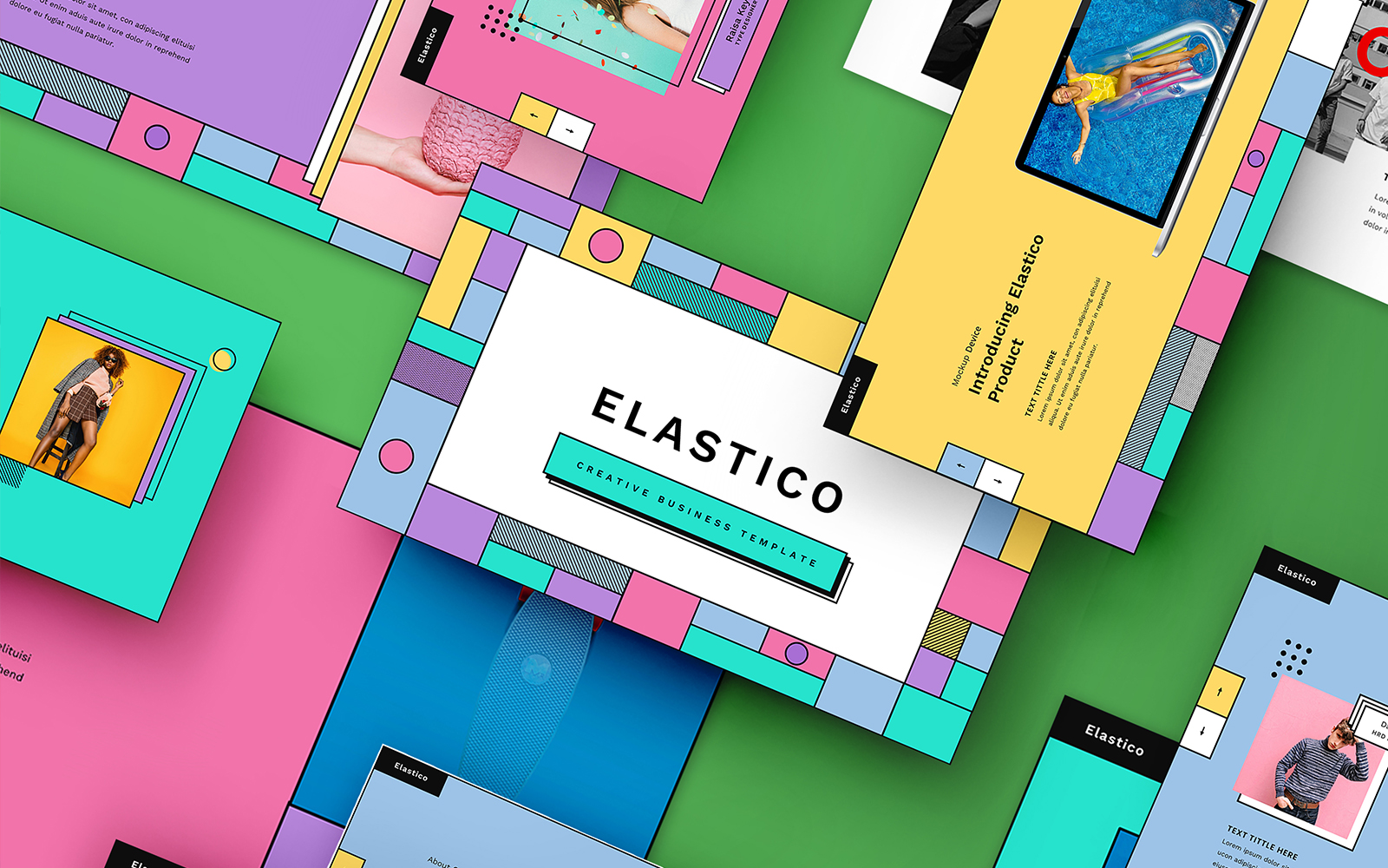 Elastico – Creative Business PowerPoint Template