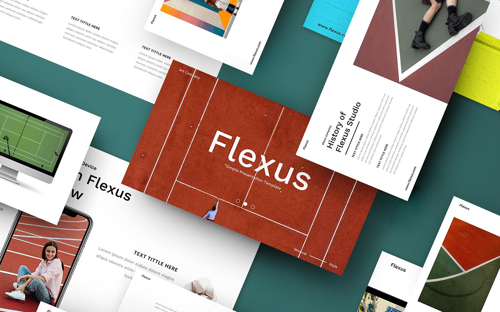 Flexus – Creative Business PowerPoint Template