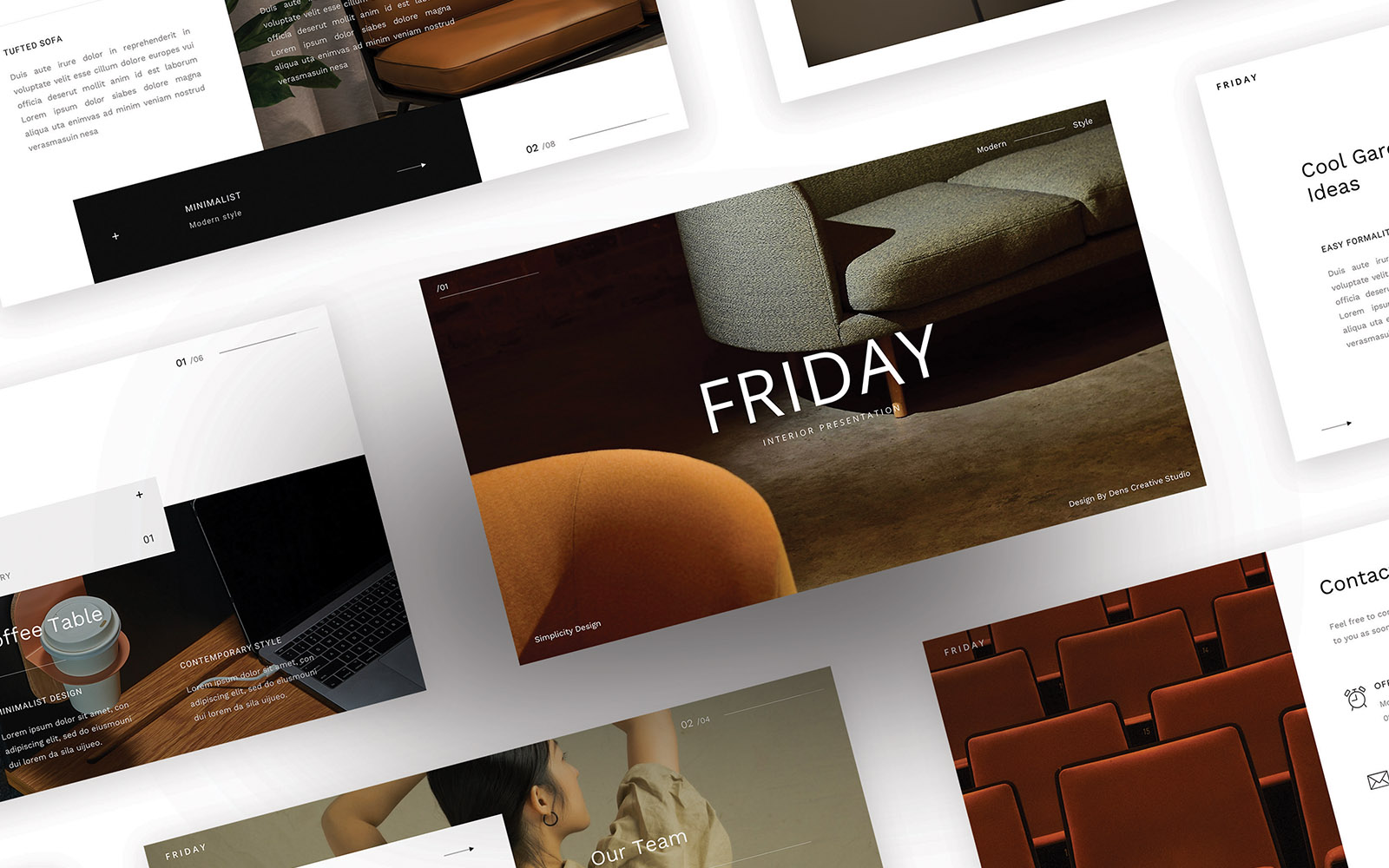 Friday – Simple Business PowerPoint Template
