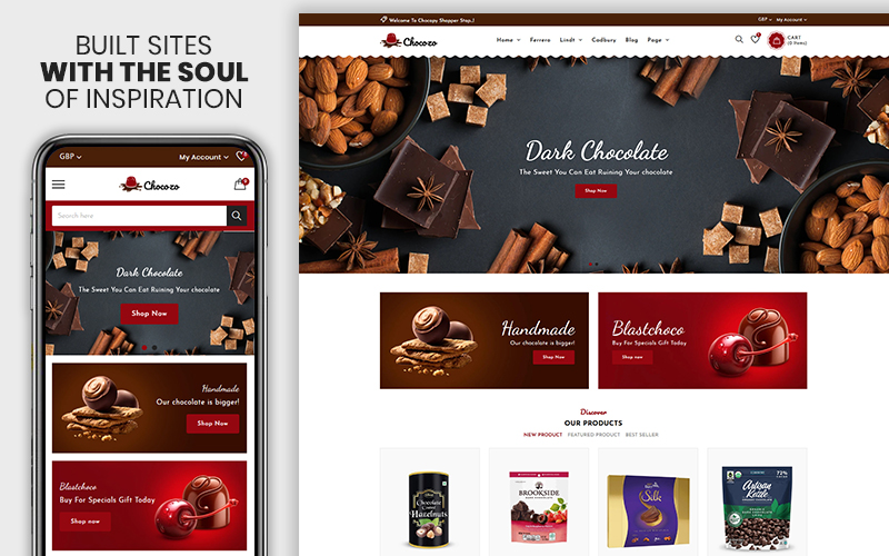 Chocozo - The Chocolate Responsive Shopify Theme