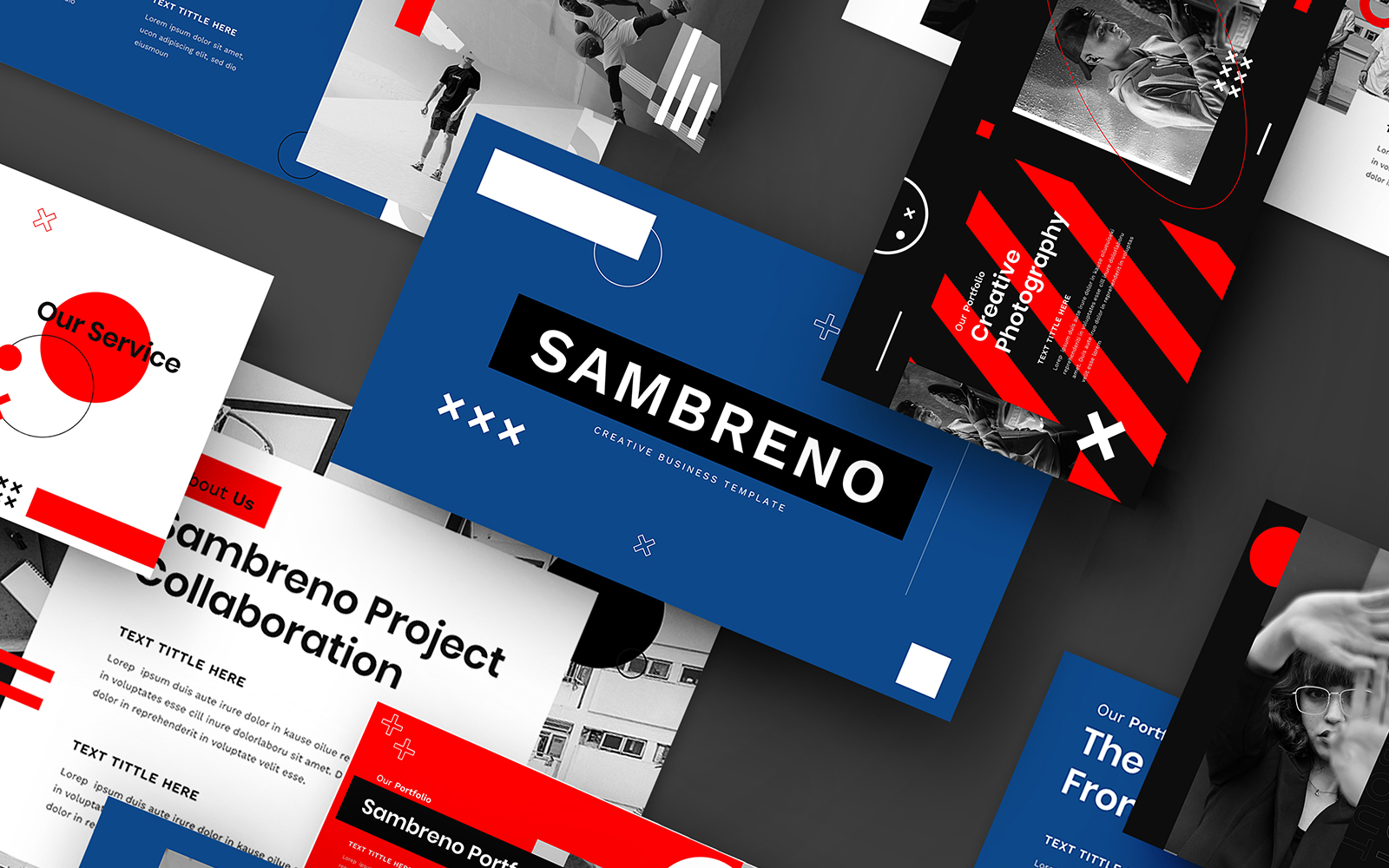 Sambreno – Creative Business PowerPoint Template