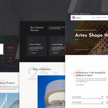 Website Template № 110290