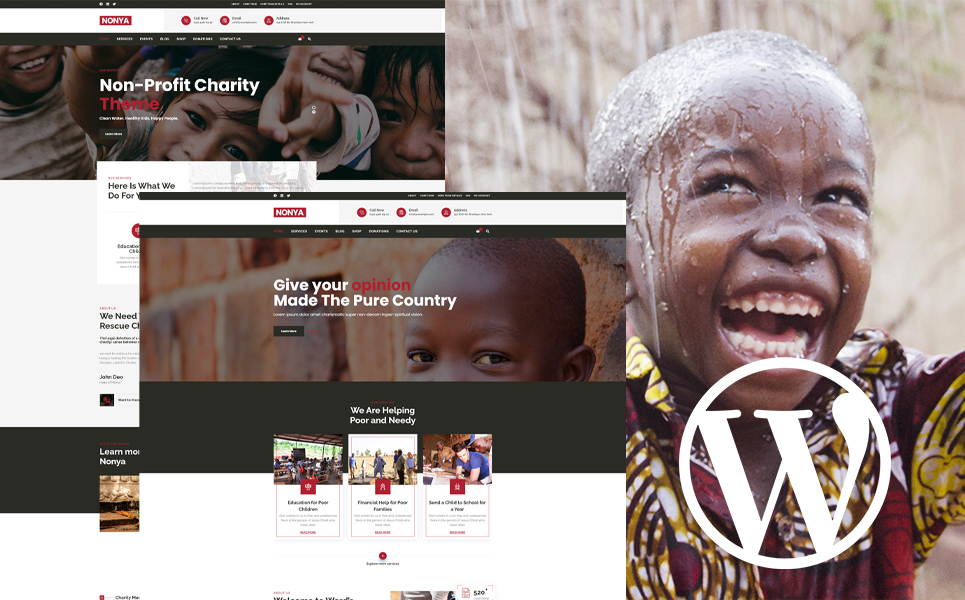 Nonya - Nonprofit WordPress Theme