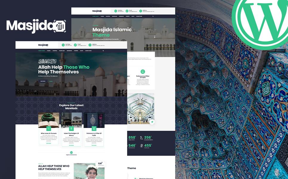 Masjida - Islam Mosque WordPress Theme