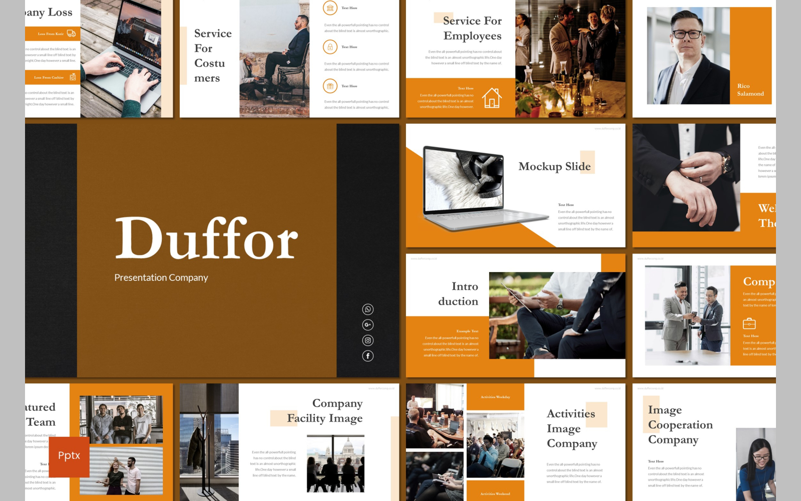 Duffor PowerPoint Template