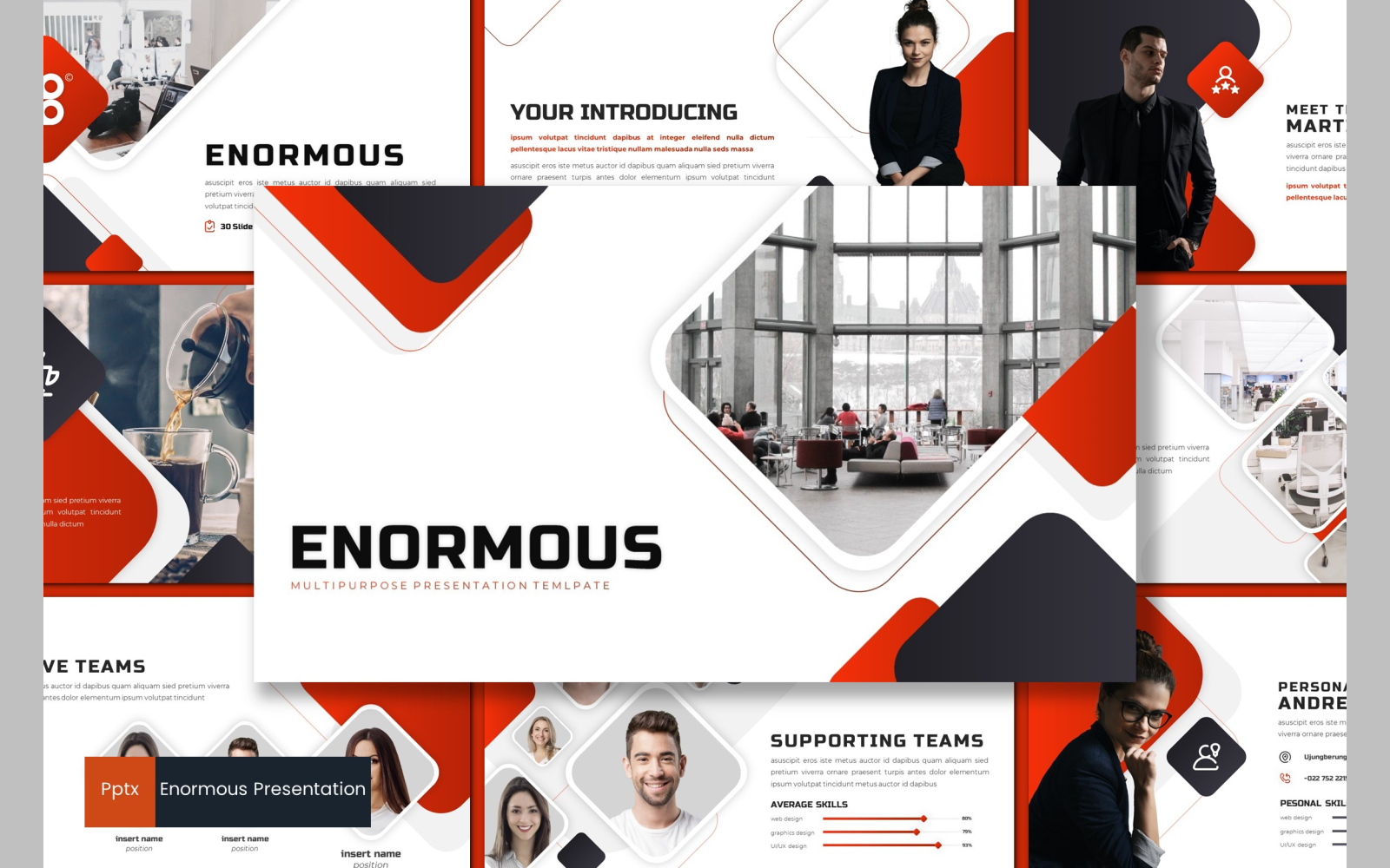 Enormous PowerPoint Template