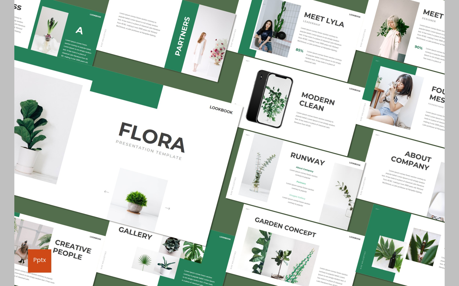 Flora PowerPoint Template