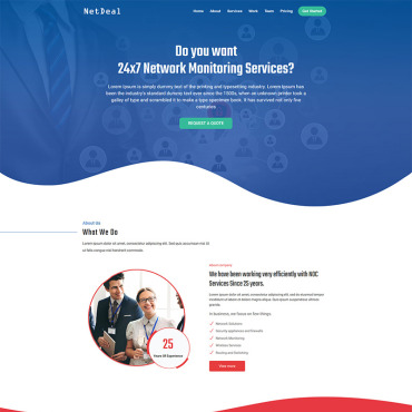 Website Template № 110599