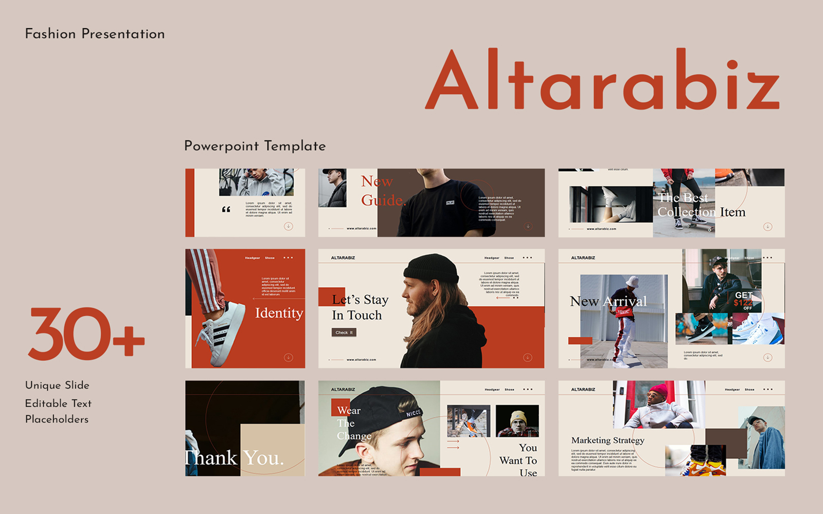 Altarabiz Presentation PowerPoint Template