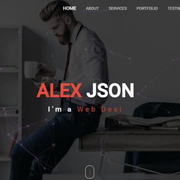 Template Web Design Landing Page #110676