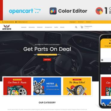 Template Transport OpenCart #110763