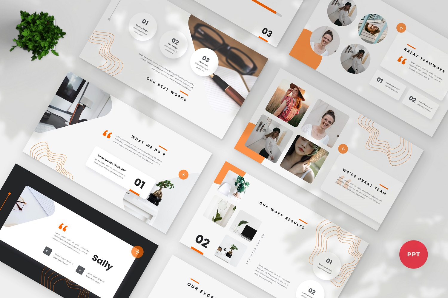 Sally - Creative PowerPoint Template