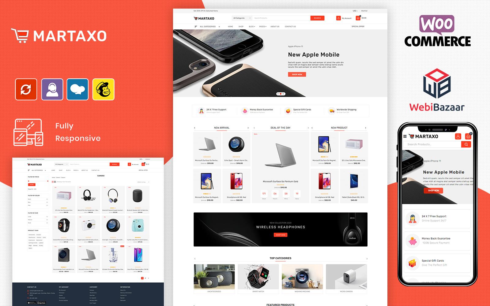 Martaxo - Multipurpose Super Market WooCommerce Theme