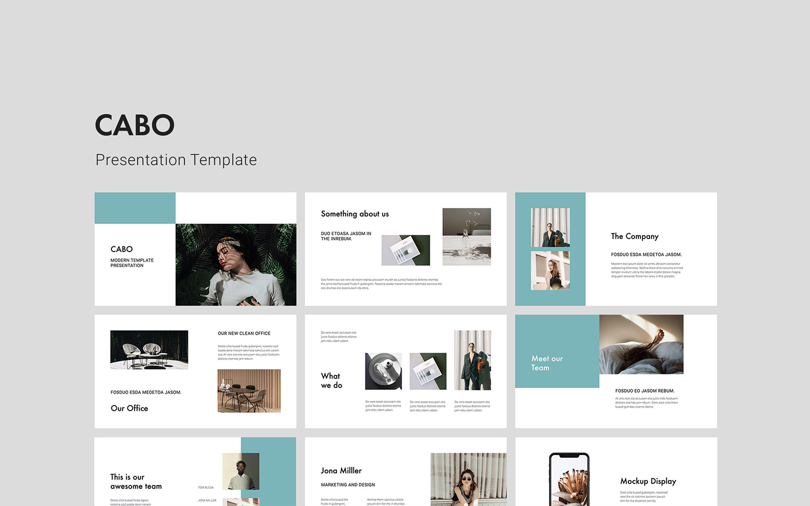 CABO - Presentation PowerPoint Template
