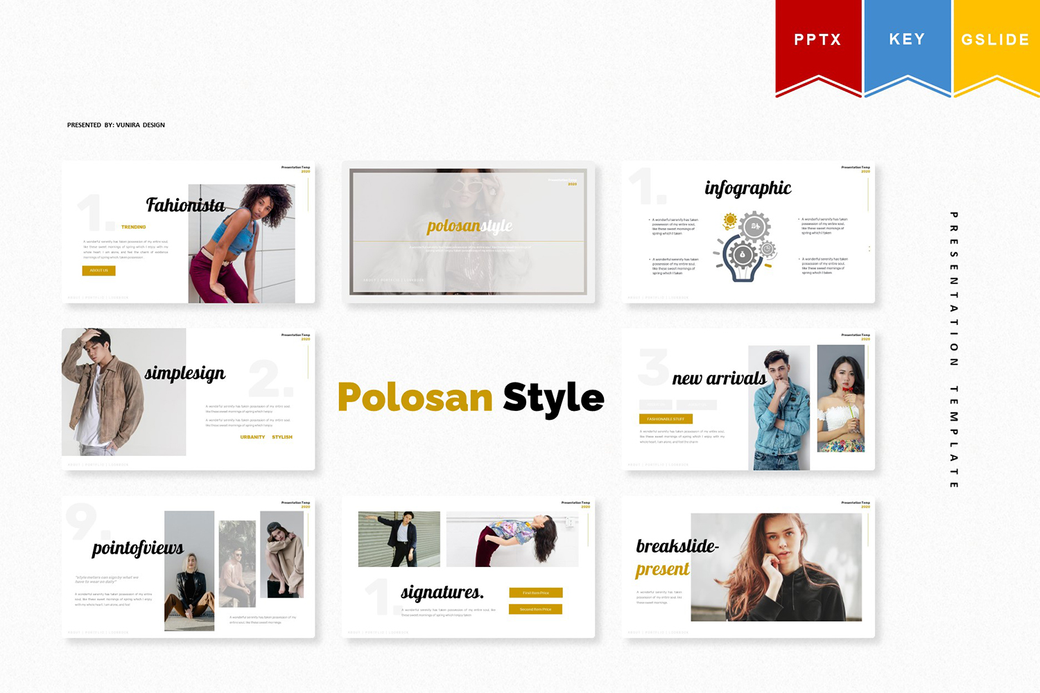 Polosan Style | PowerPoint Template