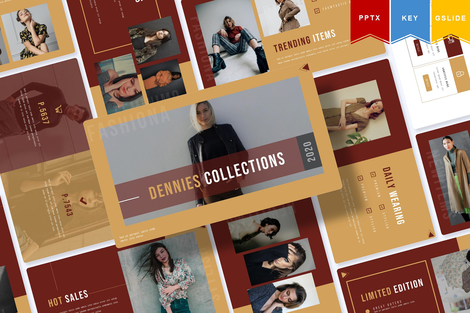 Dennies | PowerPoint Template