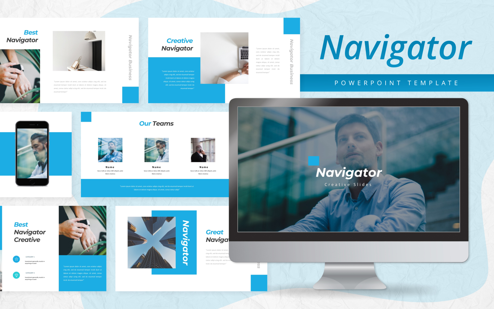 Navigator - Creative PowerPoint Template