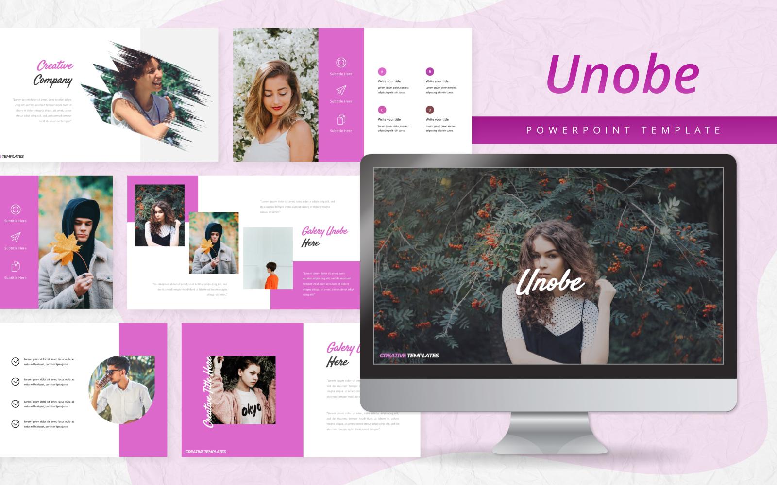 Unobe - Creative PowerPoint Template