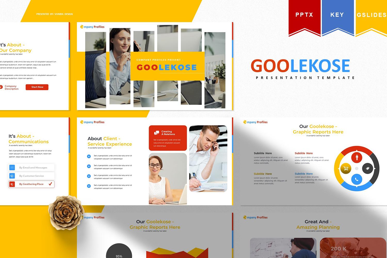 Goolekose   PowerPoint Template