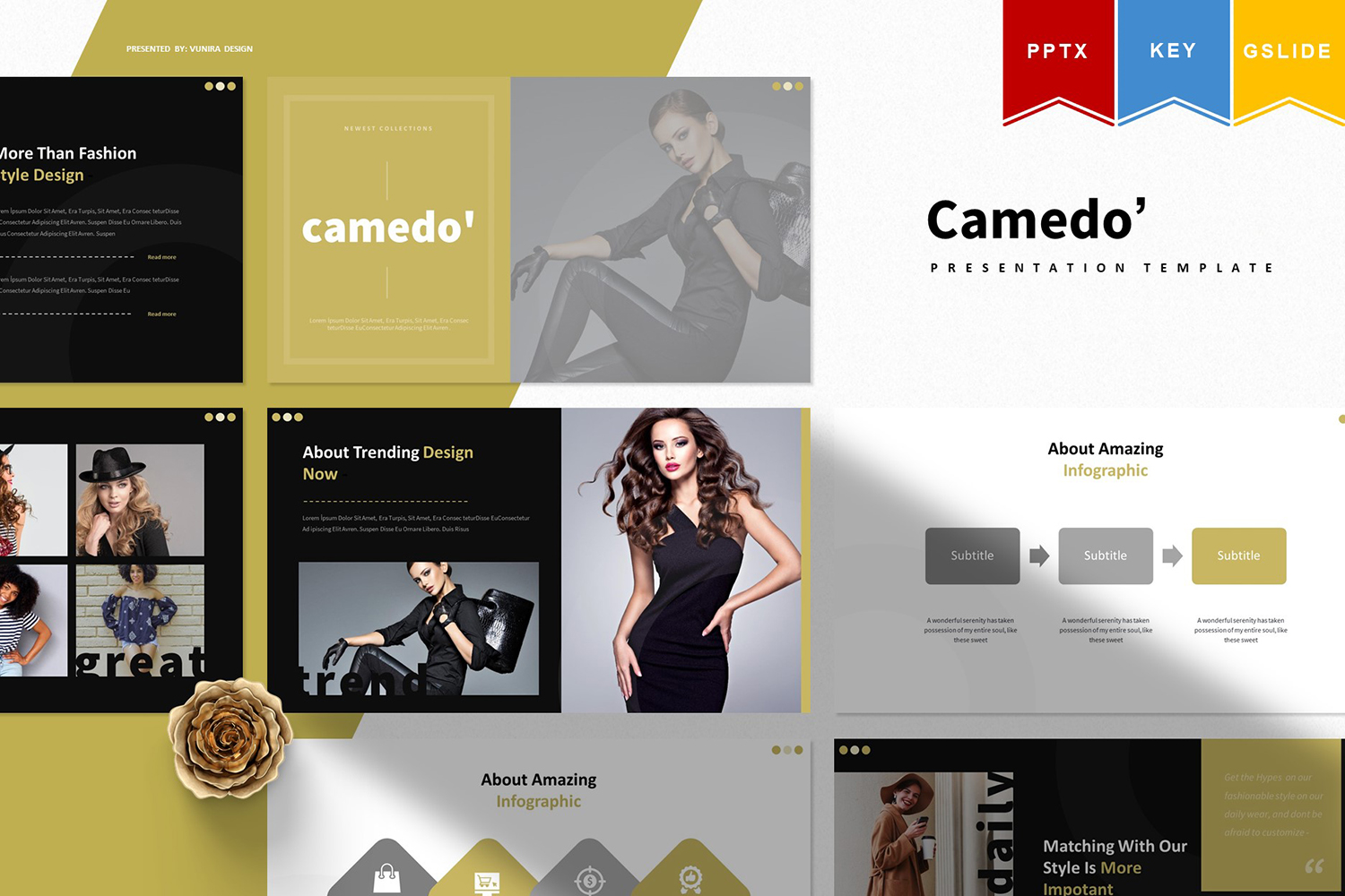 Camedo | PowerPoint Template