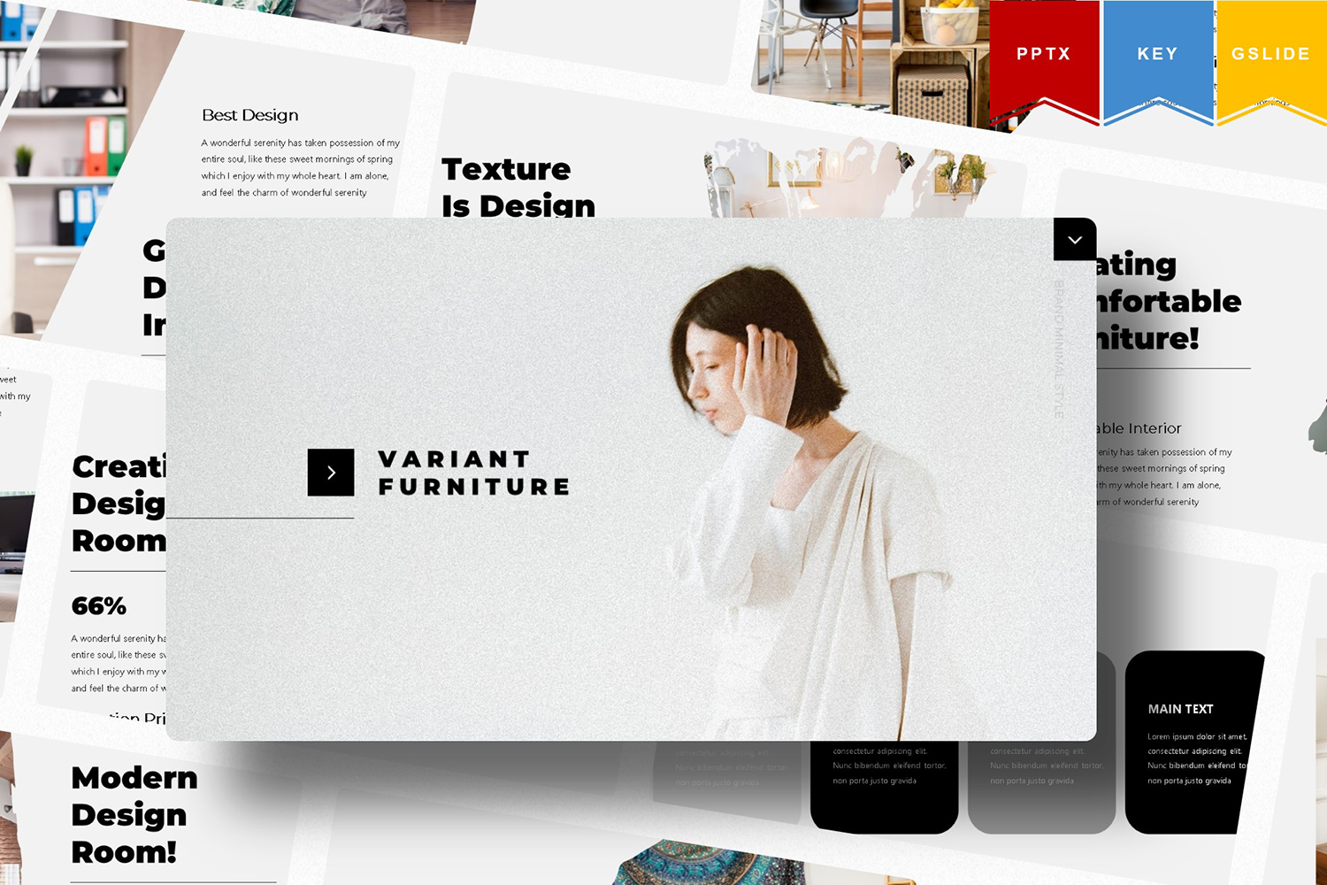 Variant Furniture | PowerPoint Template