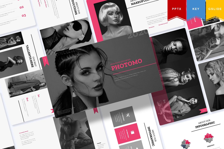 Agust Photomo | PowerPoint Template