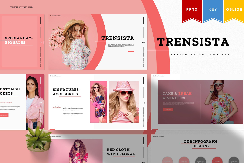 Trensista | PowerPoint Template