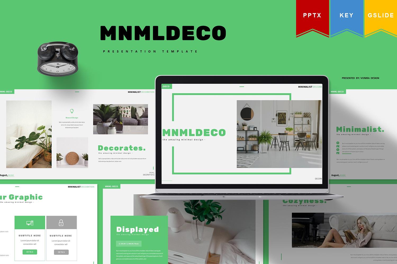 Mnmldeco | PowerPoint Template