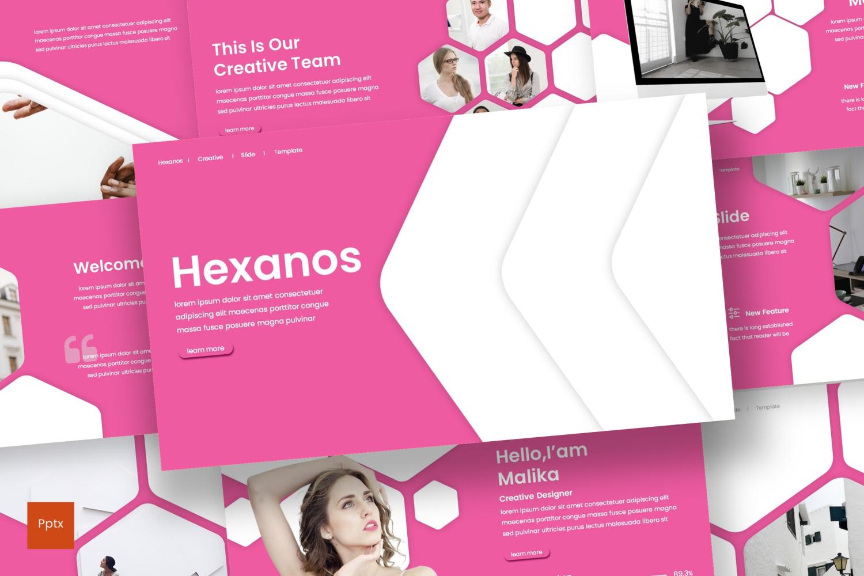 Hexanos PowerPoint Template