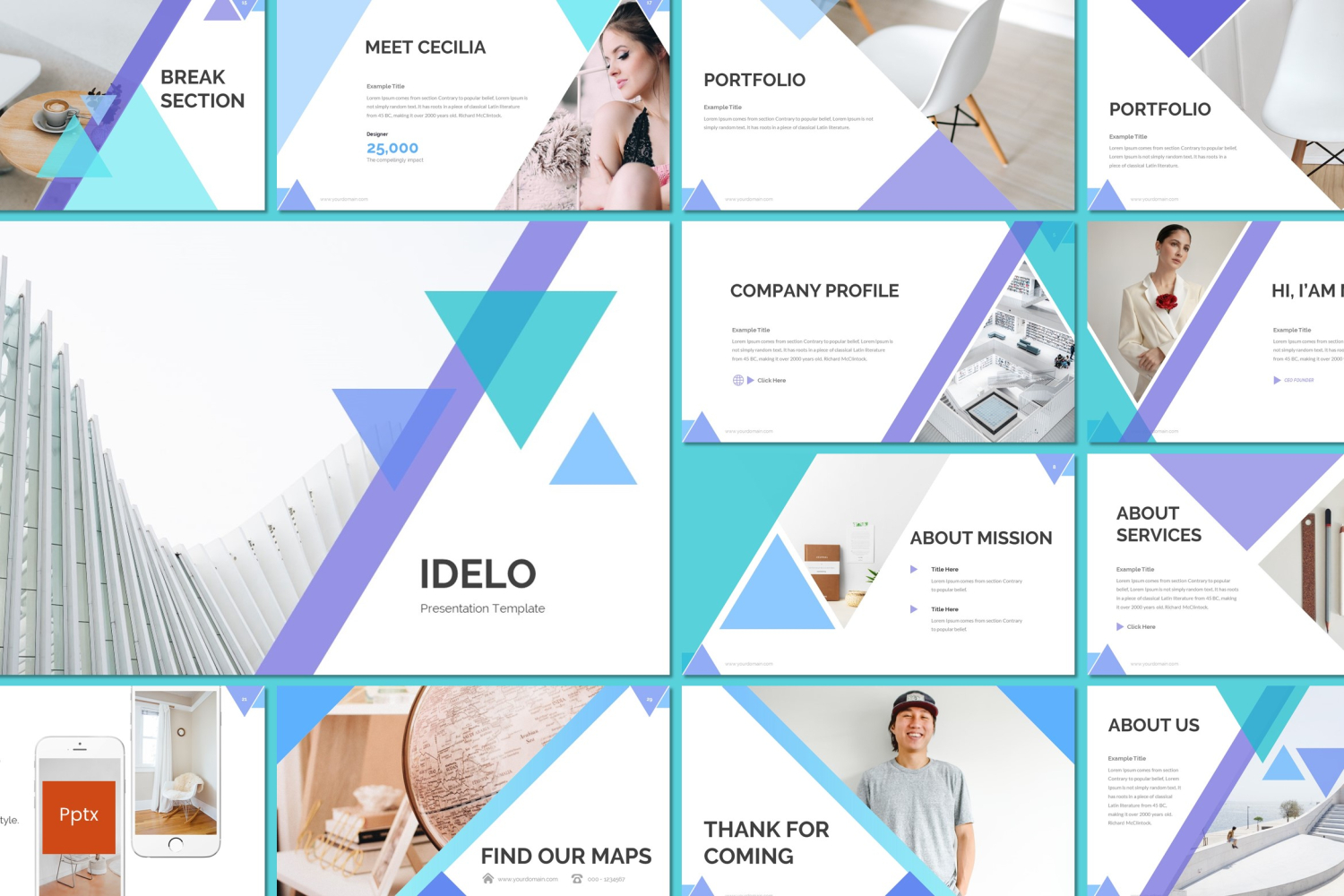 Idelo PowerPoint Template
