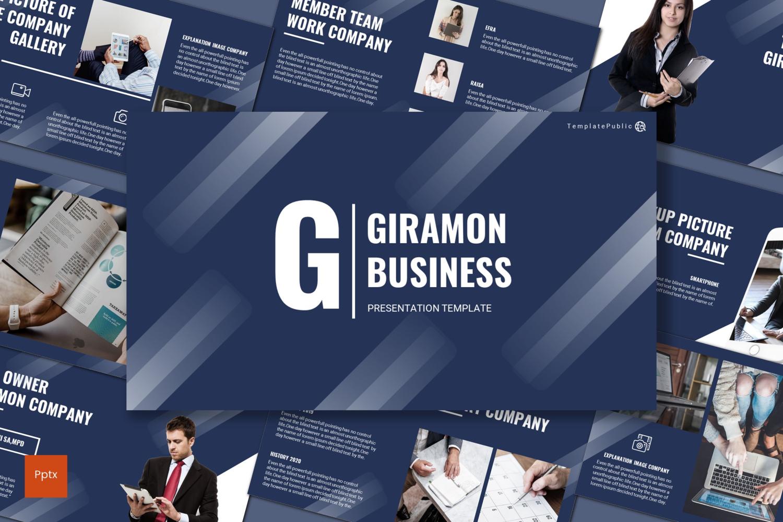 Giramon PowerPoint Template