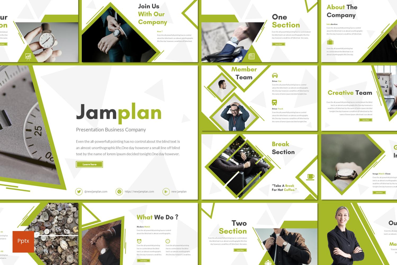 Jamplan PowerPoint Template
