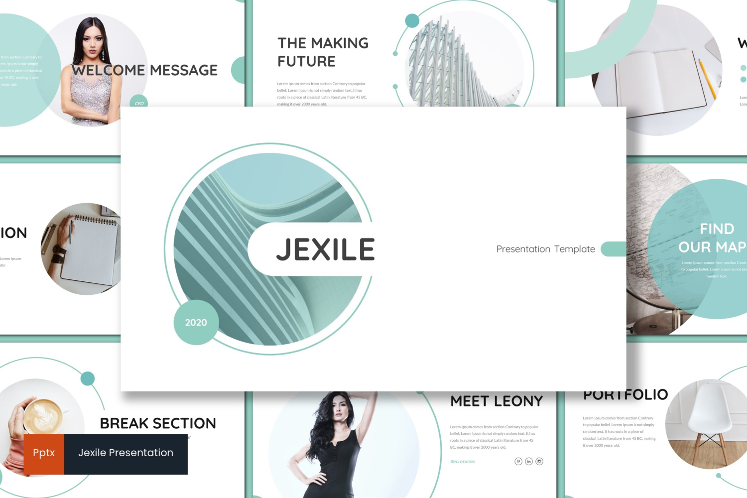 Jexile PowerPoint Template