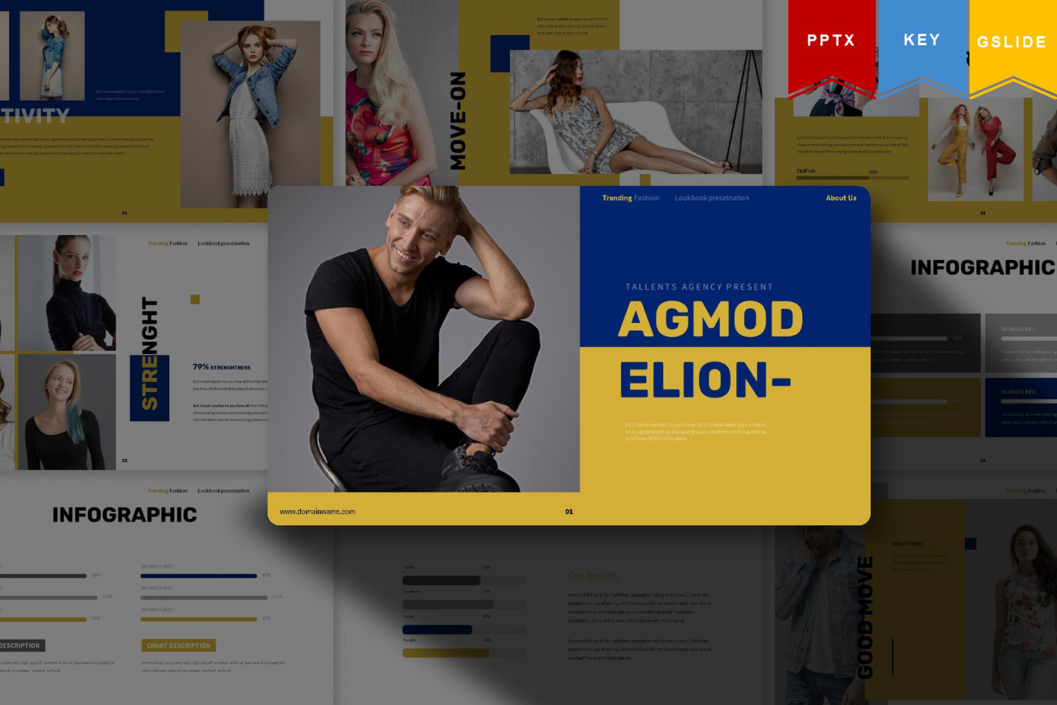 Agmodelion | PowerPoint Template