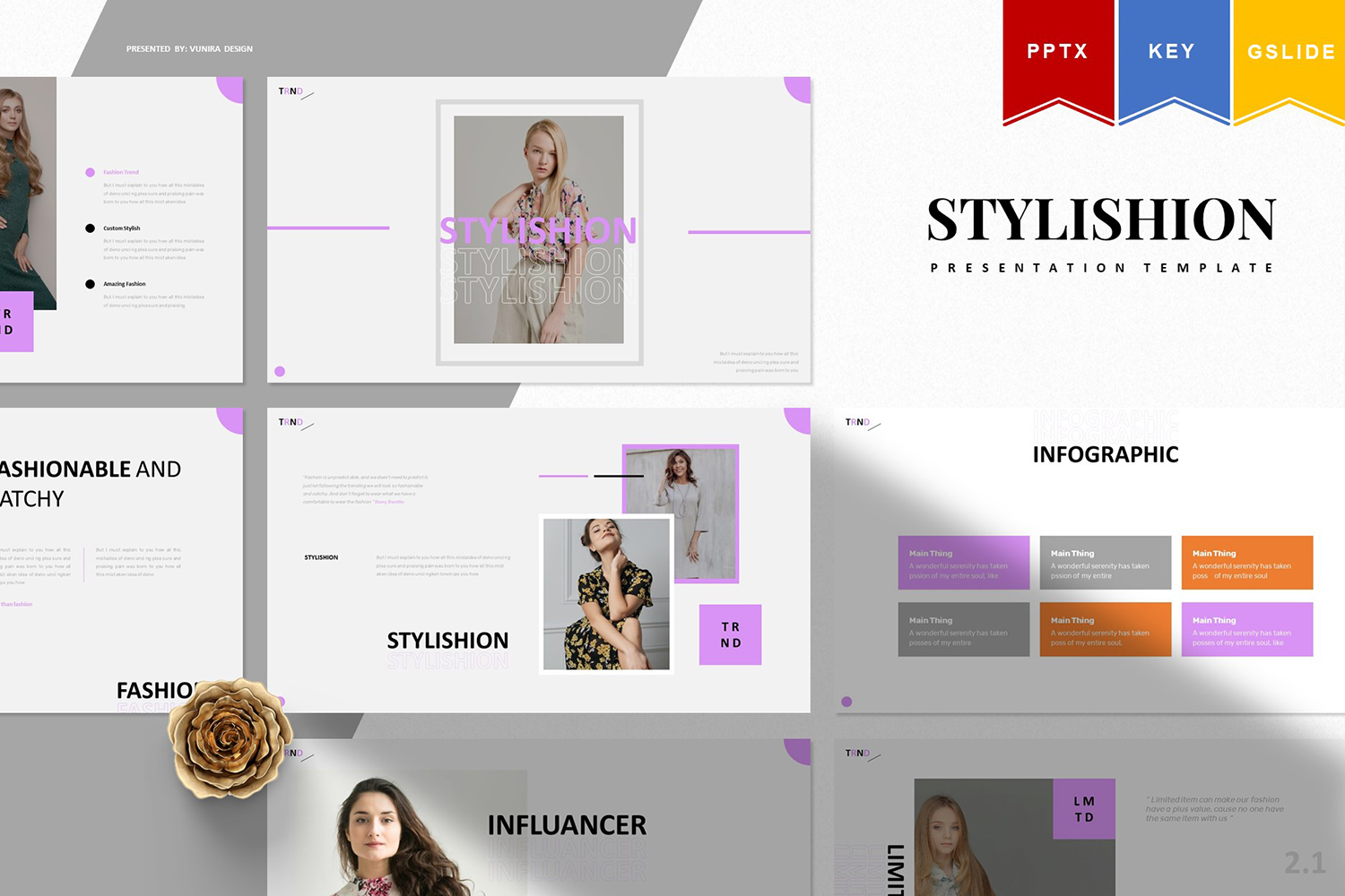Stylishion | PowerPoint Template