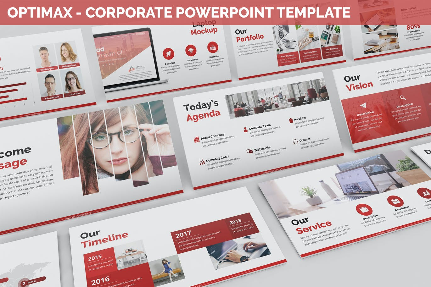 Optimax - Corporate Business PowerPoint Template