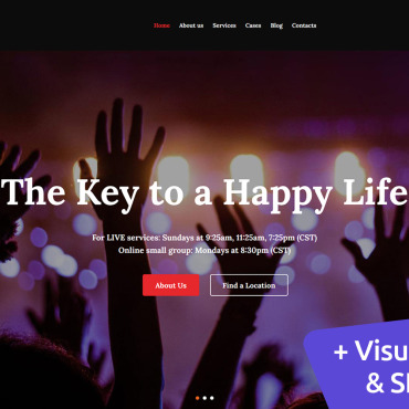 Website Template № 112242