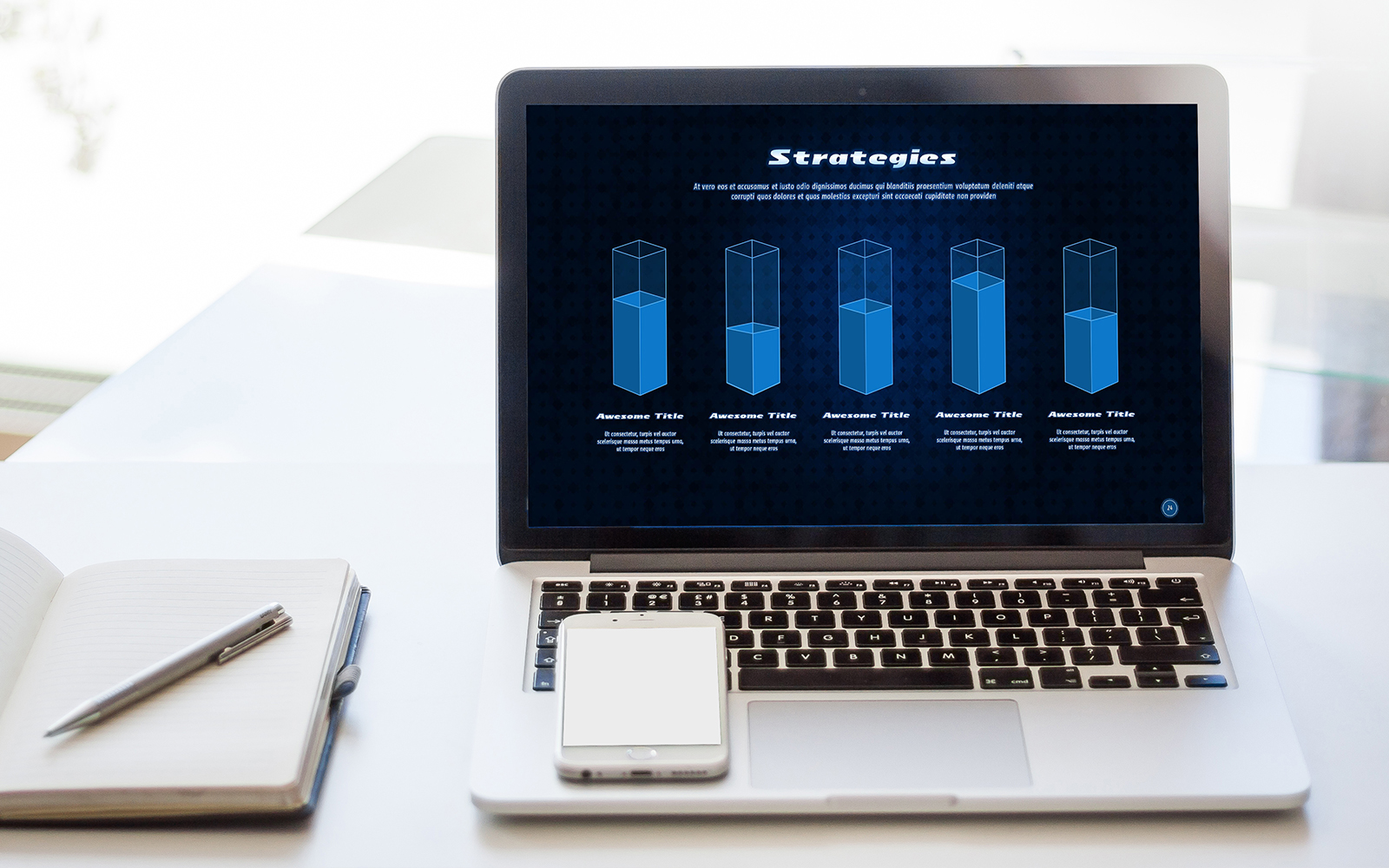 Max-Tech Technology Presentation PowerPoint Template