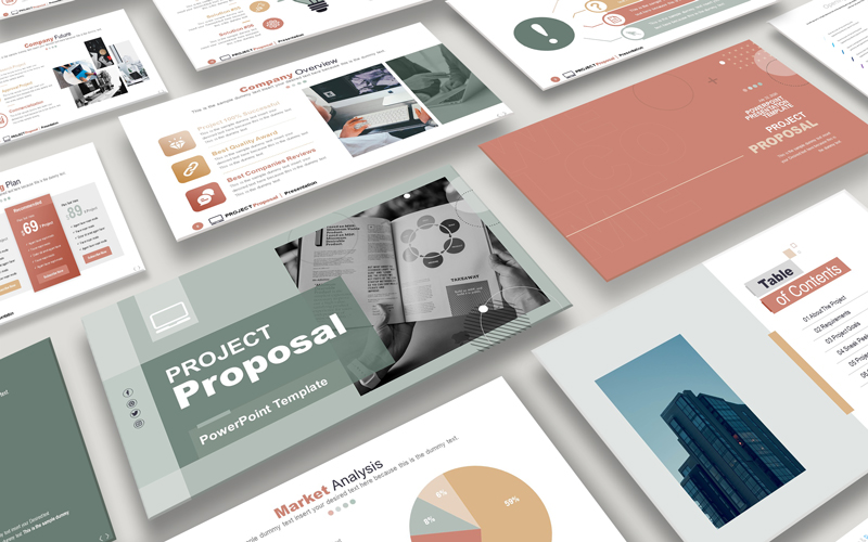 Project Proposal | Presentation PowerPoint Template