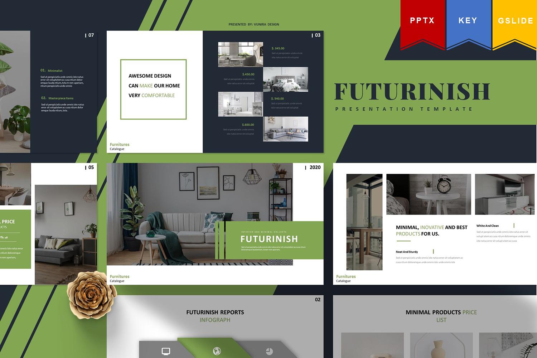 Futurinish | Keynote,Googleslide PowerPoint Template