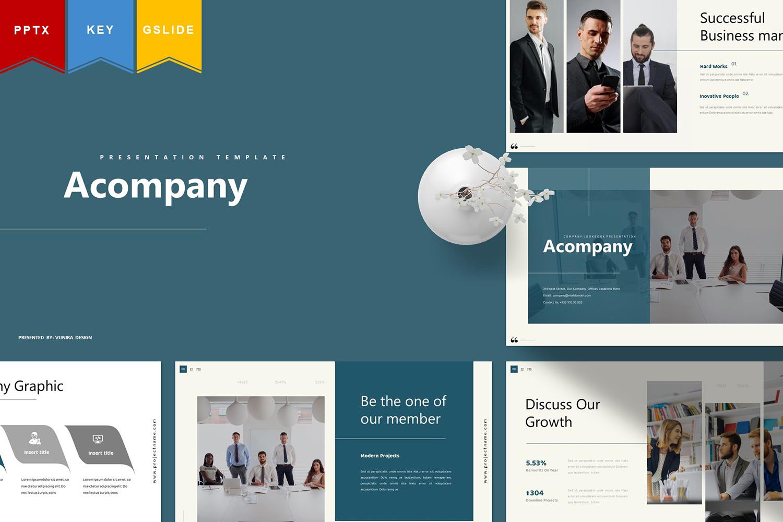 Acompany | Keynote,Googleslide PowerPoint Template