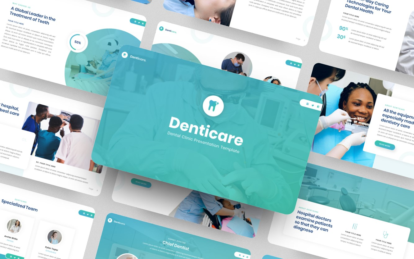 Denticare - PowerPoint Template