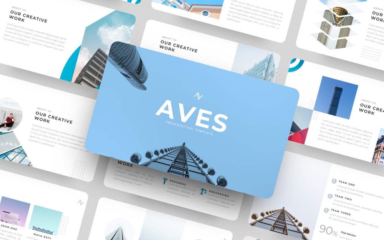 Aves- PowerPoint Template