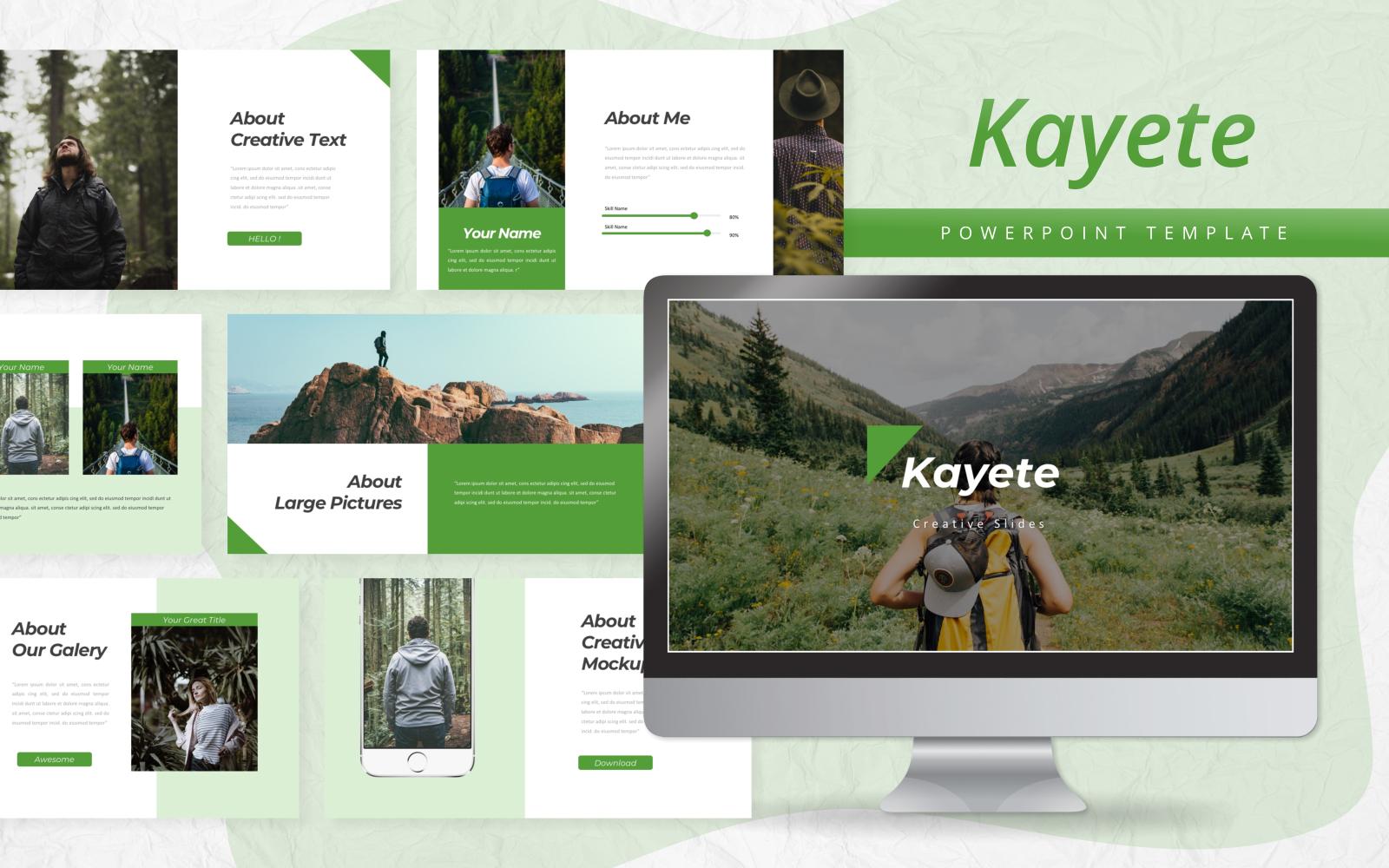 Kayete - Creative PowerPoint Template