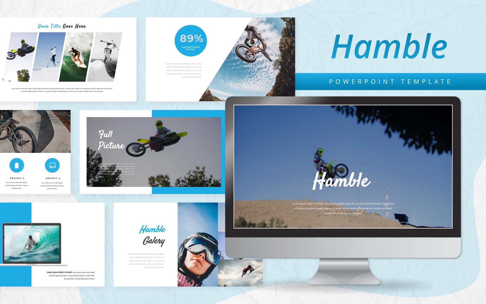 Hamble - Sport PowerPoint Template