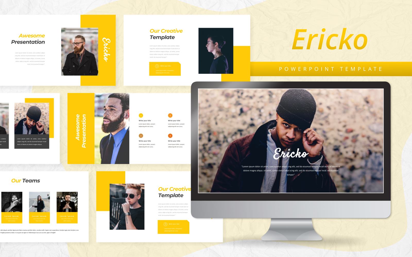 Ericko - Creative PowerPoint Template