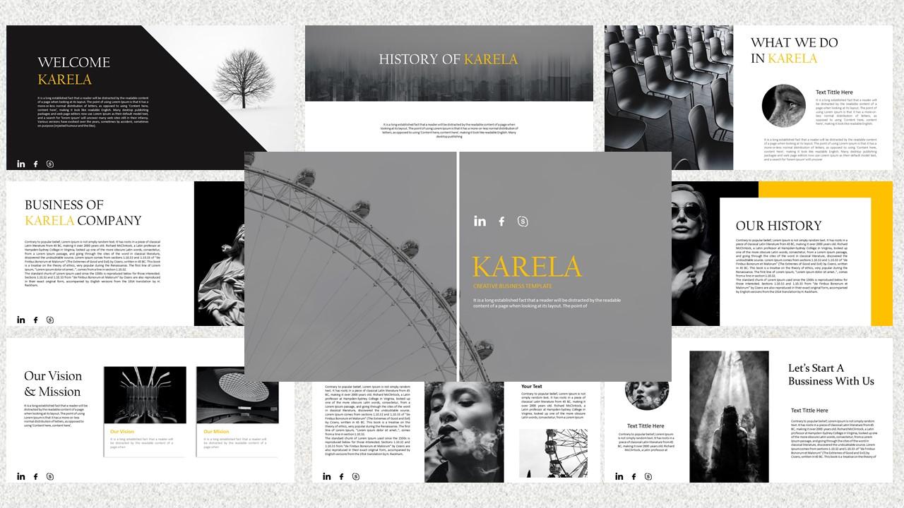 Karela – Creative Business PowerPoint Template