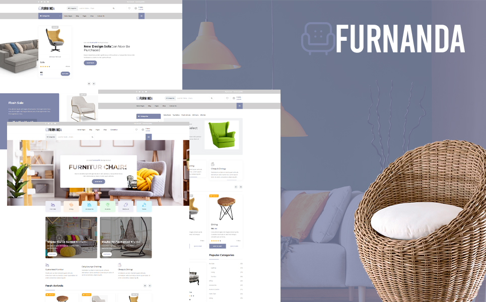 Furnanda - Furniture Shop WordPress Theme
