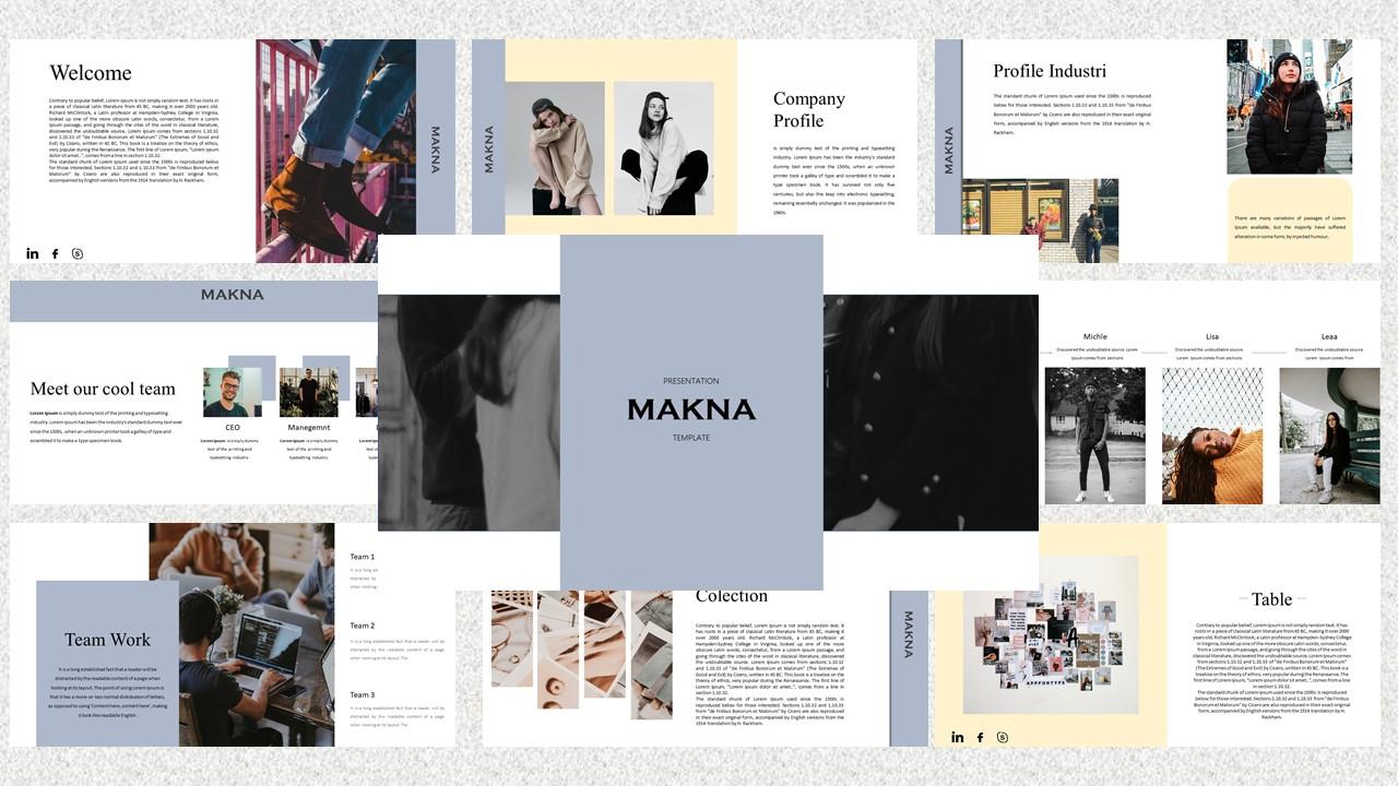 Makna – Creative Business PowerPoint Template