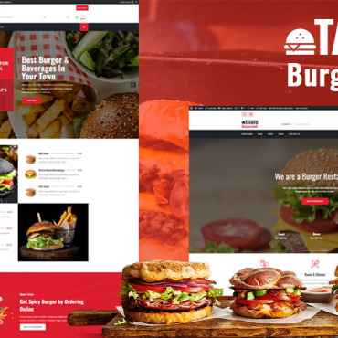 Template Cafenele și restaurante WordPress #112682